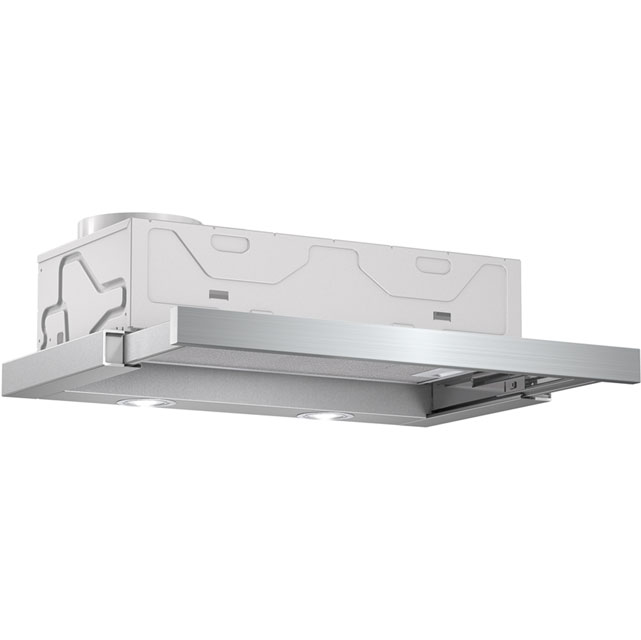 Bosch Serie 2 60 cm Telescopic Cooker Hood - Silver - C Rated