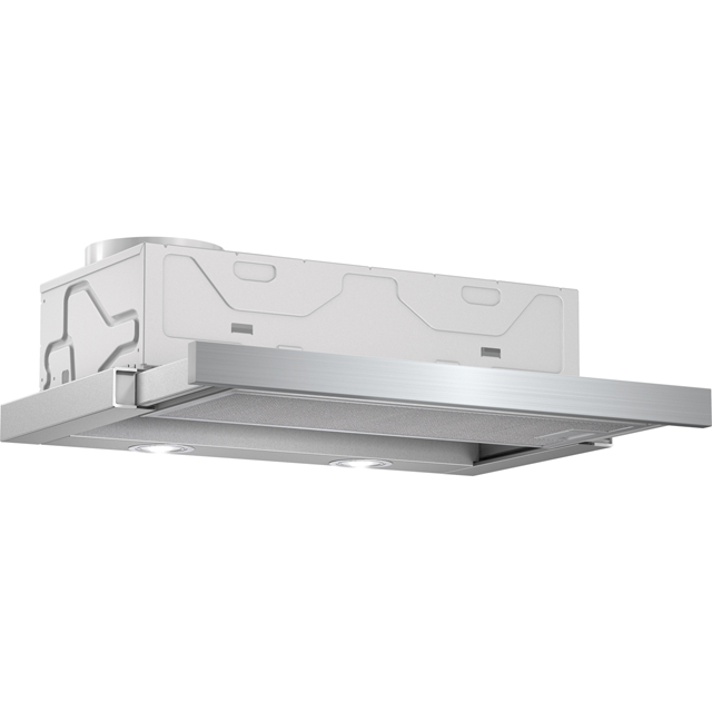 Bosch Serie 2 DFM063W55B Built In Integrated Cooker Hood - Silver - DFM063W55B_SI - 1