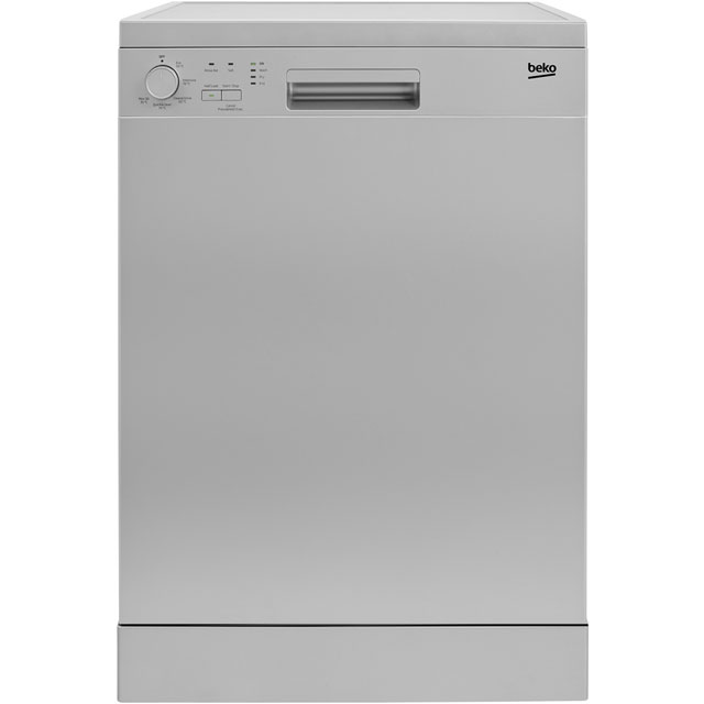 Beko DFN05R10S Standard Dishwasher - Silver Best Price, Cheapest Prices