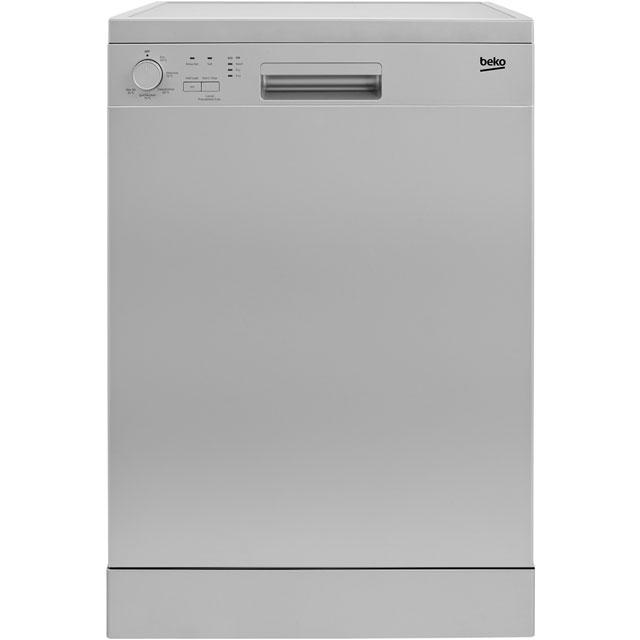 Beko DFN05R10S Free Standing Dishwasher in Silver