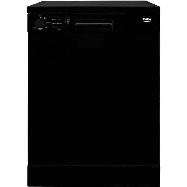 Beko Standard Dishwasher - Black - A+ Rated