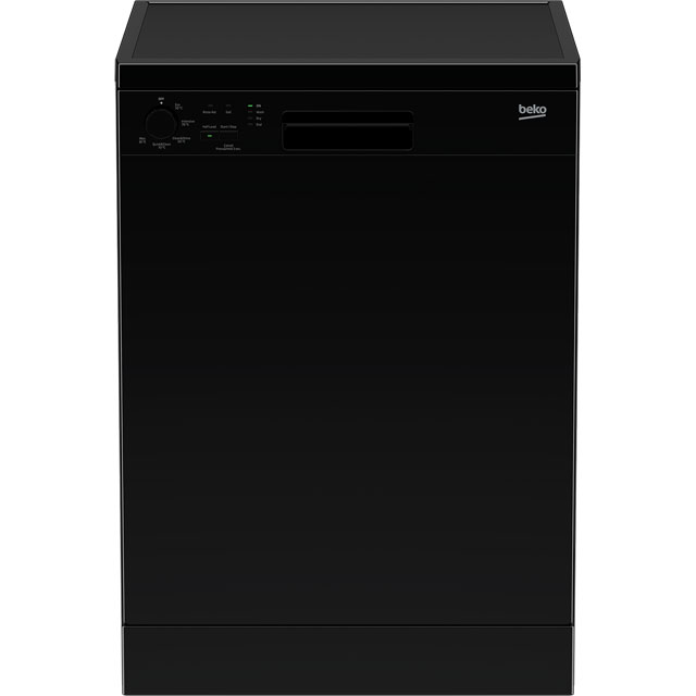 Beko DFN05R11B Standard Dishwasher - Black - A+ Rated