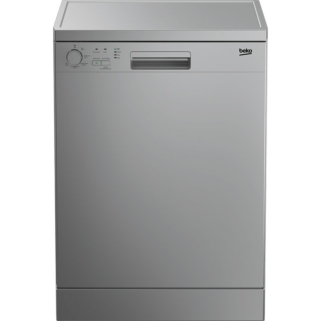 Beko DFN05R11S Standard Dishwasher - Silver - A+ Rated