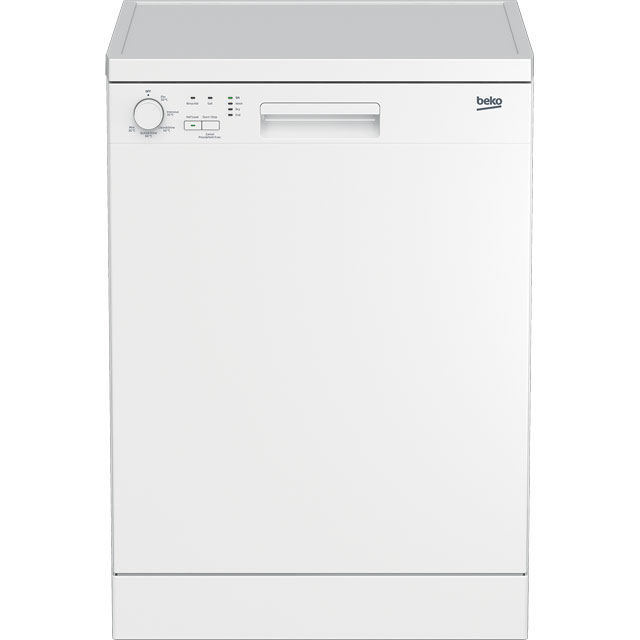 Beko DFN05R11W Standard Dishwasher - White - A+ Rated - DFN05R11W_WH - 1