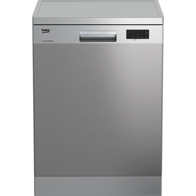 Beko DFN15R10X Standard Dishwasher - Stainless Steel - A+ Rated