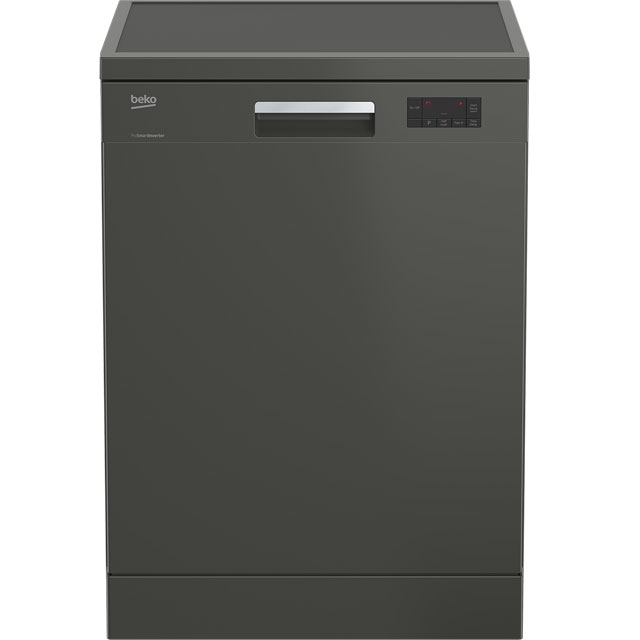 Beko DFN16420G Standard Dishwasher - Graphite - A++ Rated Best Price, Cheapest Prices