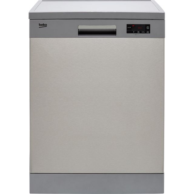 Beko DFN16430X Standard Dishwasher - Stainless Steel - D Rated