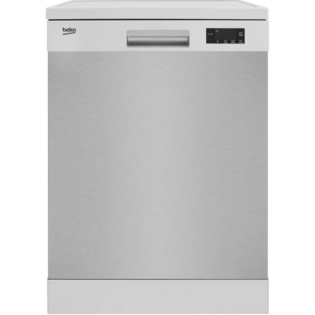 Beko DFN16R10X Standard Dishwasher - Stainless Steel Best Price, Cheapest Prices