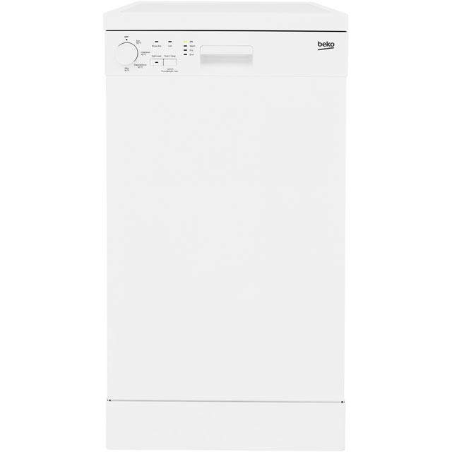 Beko Free Standing Slimline Dishwasher in White