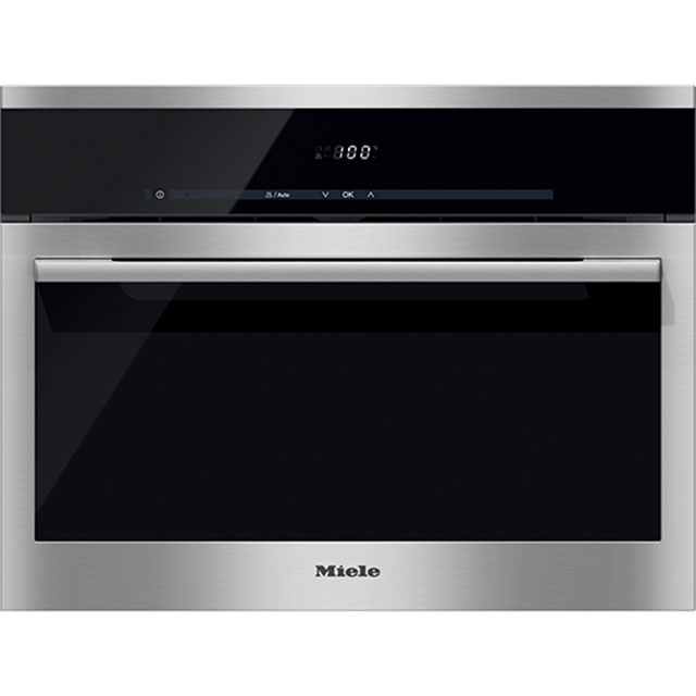 Miele ContourLine DG6100 Built In Steam Oven - Clean Steel - DG6100_CS - 1
