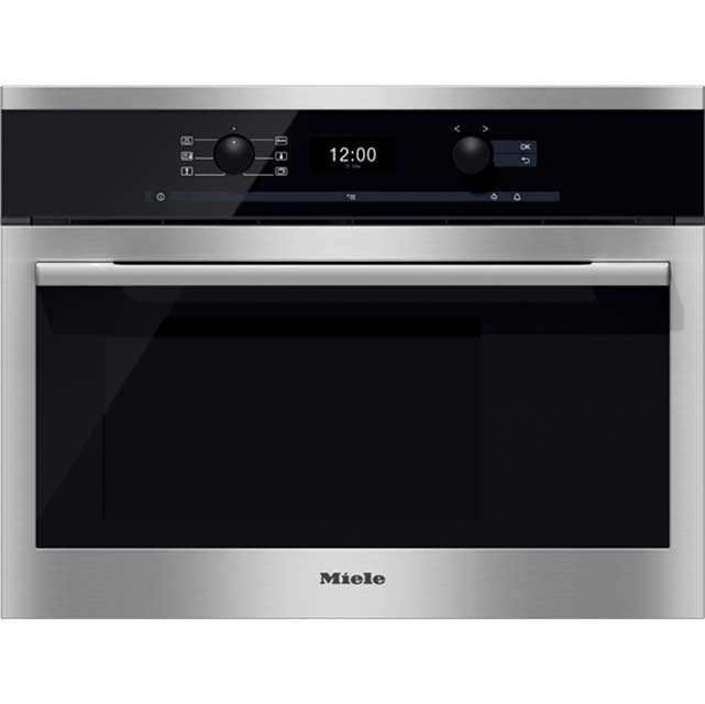 Miele ContourLine DG6300 Built In Compact Steam Oven - Stainless Steel