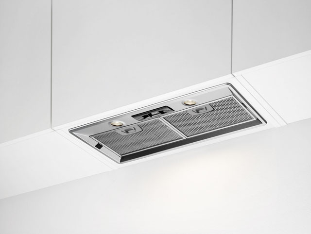 Image of AEG DGB2750M Integrated Cooker Hood in Stainless Steel