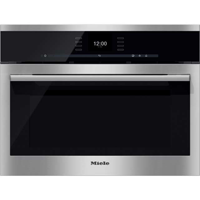 Miele ContourLine DGC6500 Built In Compact Steam Oven - Stainless Steel - DGC6500_SS - 1
