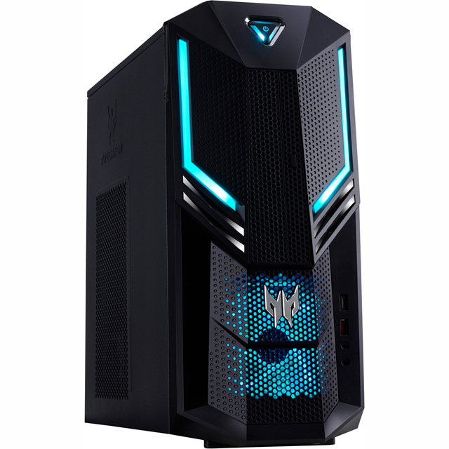 Acer Gaming Tower - Black / Blue - Predator PO3-600 - DG.E14EK.032 - 1
