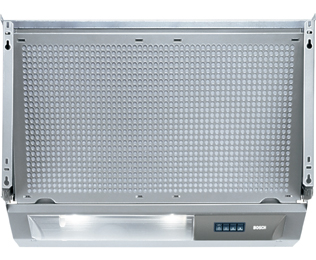 Bosch Serie 4 DHE645MGB Integrated Cooker Hood in Silver Grey