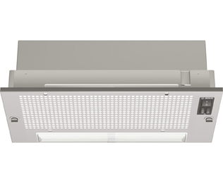 Bosch Serie 2 DHL535BGB Integrated Cooker Hood in Silver Grey at Boots Kitchen Appliances