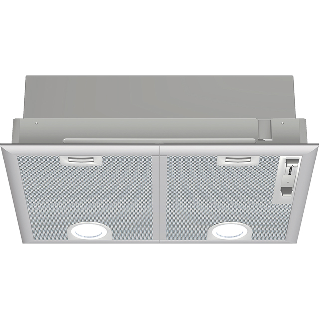 Bosch Serie 4 DHL555BLGB Built In Canopy Cooker Hood - Silver - DHL555BLGB_SI - 1