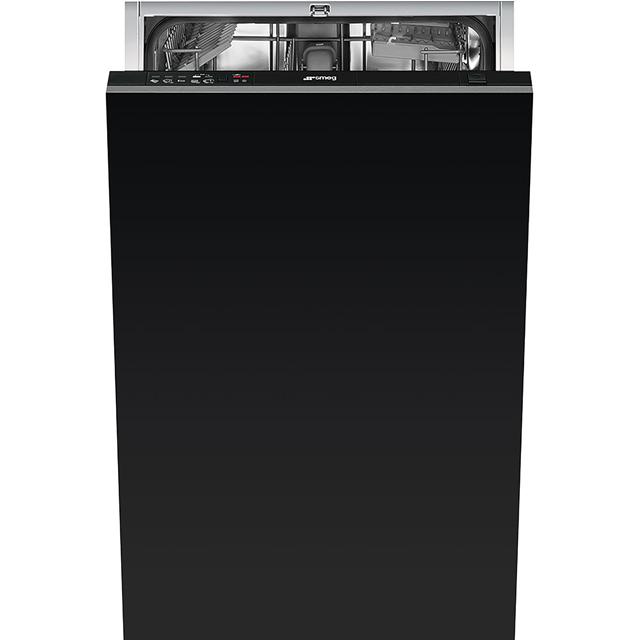 Smeg Integrated Slimline Dishwasher in Black at Boots Kitchen Appliances