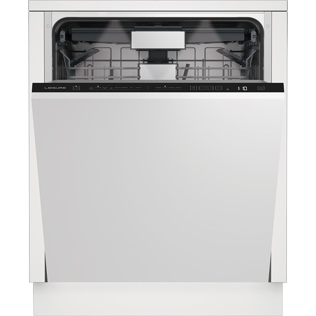 Leisure DI54280 Fully Integrated Standard Dishwasher - Black Control Panel with Fixed Door Fixing Kit - A++ Rated - DI54280_BK - 1