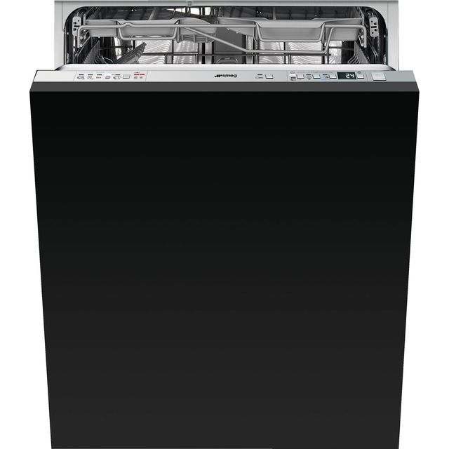 Smeg DI613PNH Fully Integrated Standard Dishwasher - Stainless Steel Control Panel with Fixed Door Fixing Kit - A+++ Rated - DI613PNH_SS - 1