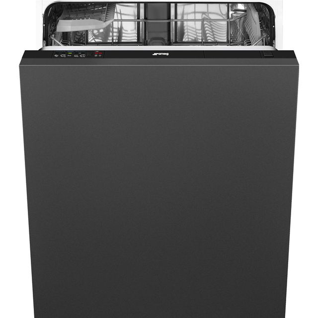 Smeg DIA13M2 Fully Integrated Standard Dishwasher - Black Control Panel with Fixed Door Fixing Kit - A++ Rated - DIA13M2_BK - 1