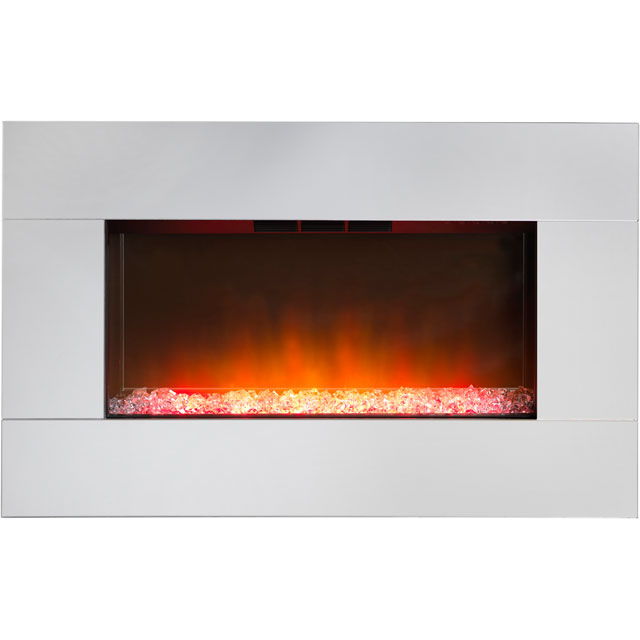 Dimplex Diamantique Pebble Bed Wall Mounted Fire - Mirror Glass