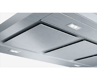 Bosch Serie 8 DIB091K50B 90 cm Chimney Cooker Hood - Black Glass - DIB091K50B_BKG - 4