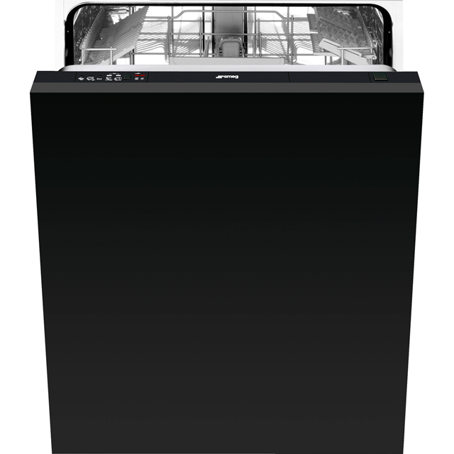 Smeg DIC613 Standard Dishwasher Black