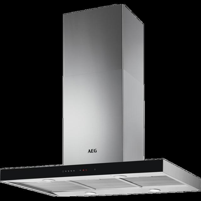 AEG DIE5961HG 90 cm Island Cooker Hood - Stainless Steel - A Rated