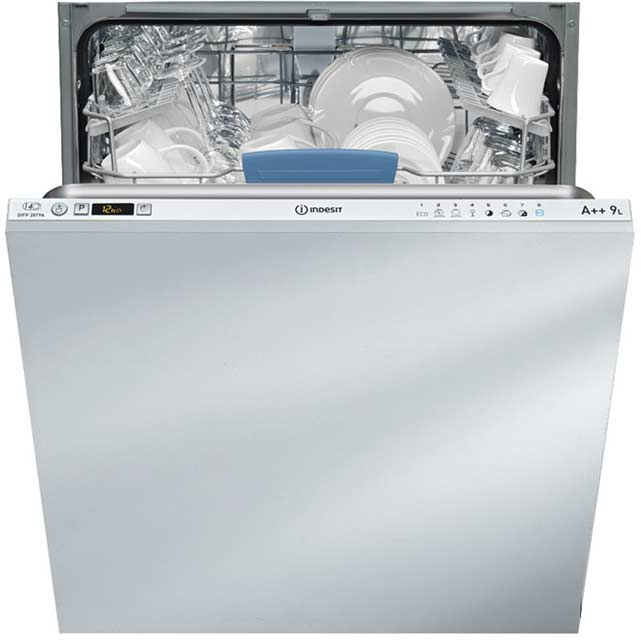 Indesit Extra Cycle DIFP28T9A Fully Integrated Standard Dishwasher