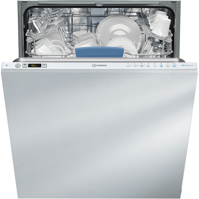 Indesit DIFP8T94Z Built In Standard Dishwasher - Silver - DIFP8T94Z_SI - 1