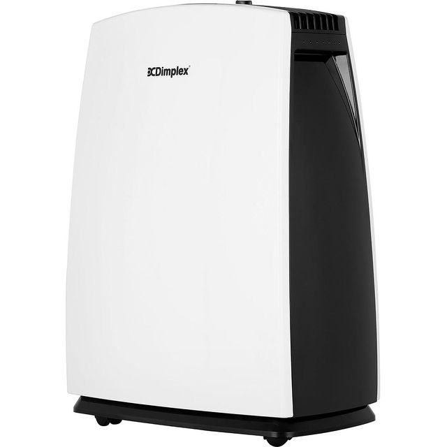 Dimplex 16L Designer DXDH16N Dehumidifier in White / Black