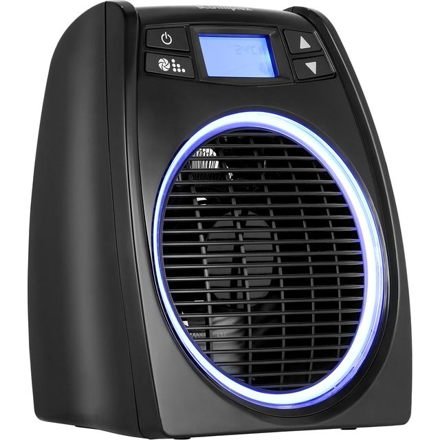 Dimplex GloFan Hot & Cool DXGL02 Fan Heater 2000W - Black - DXGL02_BK - 1