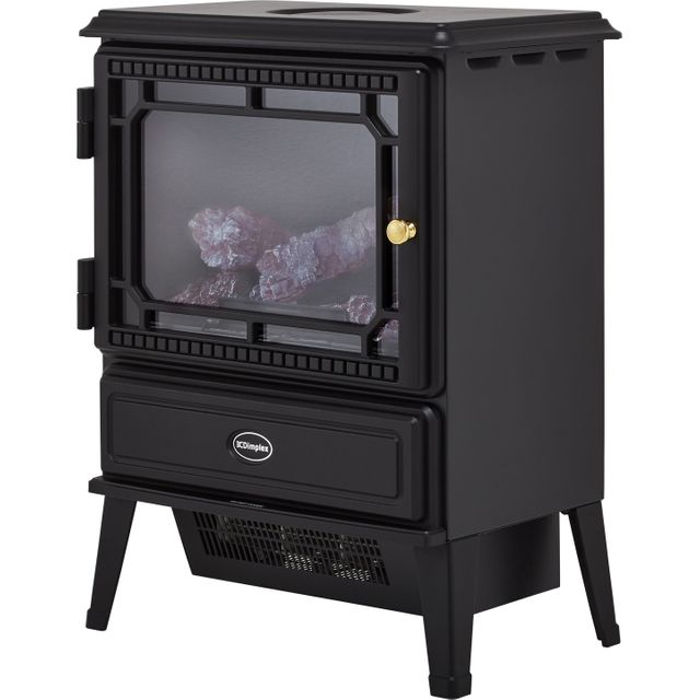 Dimplex Gosford GOS20 Log Effect Electric Stove With Remote Control - Black