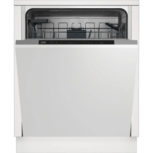Beko DIN16430 Fully Integrated Standard Dishwasher - Stainless Steel / Black - DIN16430_WH - 1