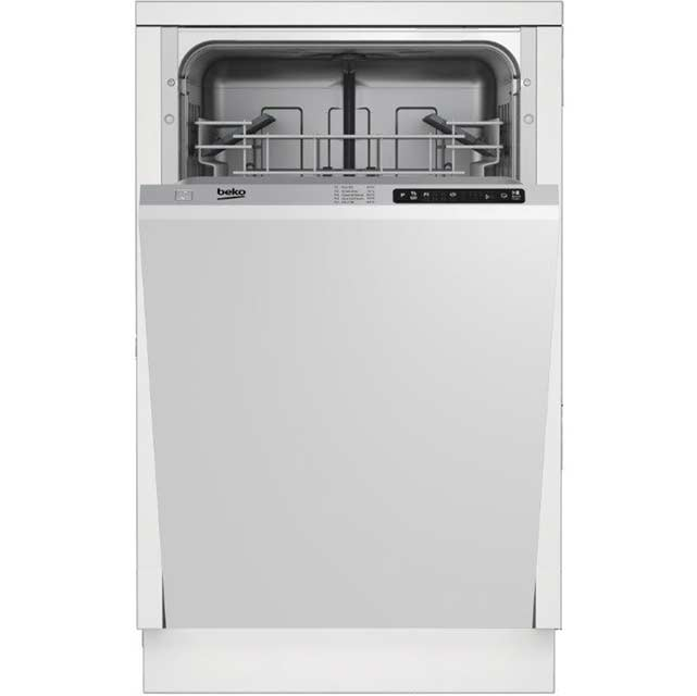 Beko DIS15010 Fully Integrated Slimline Dishwasher