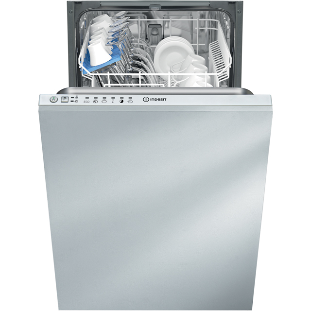 Indesit Integrated Slimline Dishwasher in White