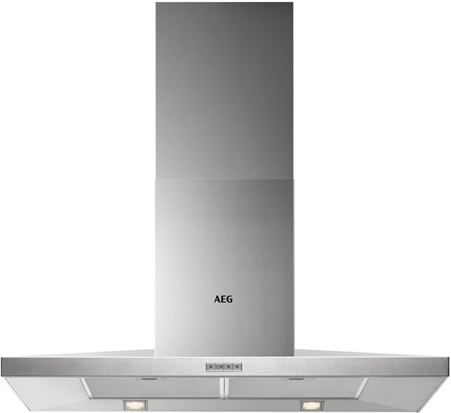 Image of AEG DKB3950M Integrated Cooker Hood in Stainless Steel