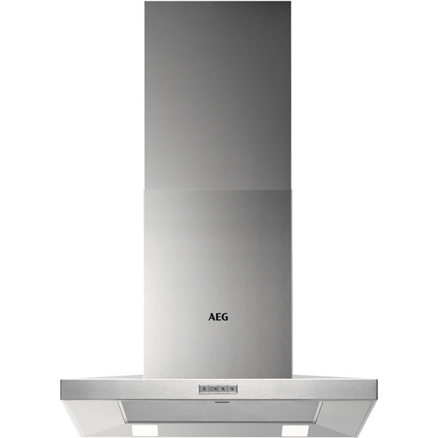 AEG 60 cm Chimney Cooker Hood - Stainless Steel - B Rated