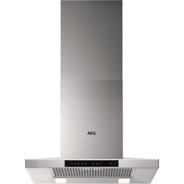 Image of AEG DKB5660HM 60 cm Chimney Cooker Hood - Stainless Steel - A Rated