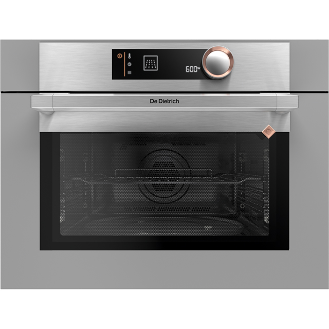 De Dietrich DKC7340G Integrated Single Oven in Grey