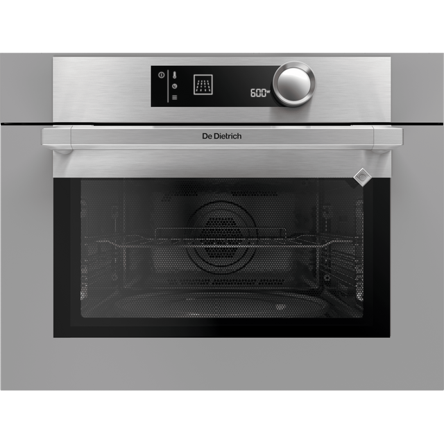 De Dietrich DKC7340G Built In Compact Electric Single Oven with Microwave Function - Grey