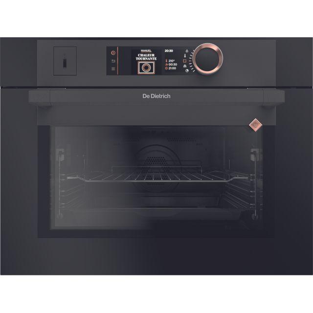 Image of De Dietrich DKR7580A Built In Compact Steam Oven - Black