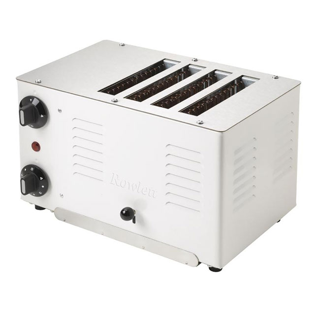 Rowlett Regent DL277 4 Slice Commercial Toaster - White - DL277_WH - 1