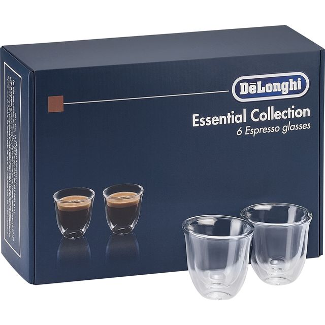 De'Longhi Essentials DLKC300 Espresso Glasses