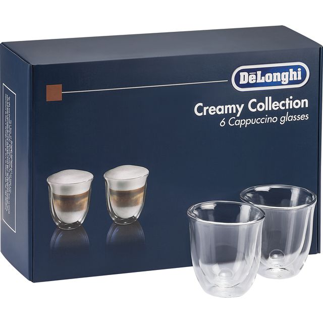 De'Longhi Creamy DLKC301 Cappuccino Glasses