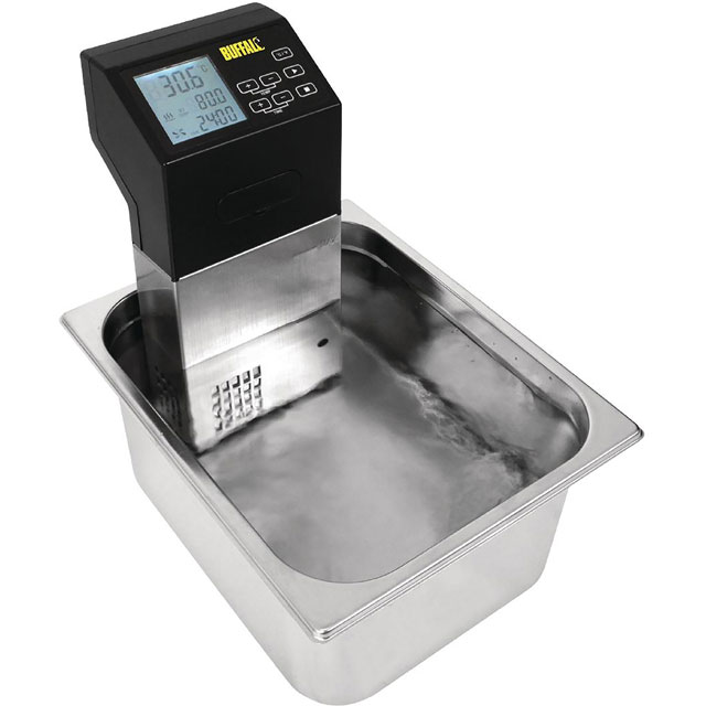 Buffalo DM868 Portable Commercial Sous Vide Machine - Black - DM868_BK - 1
