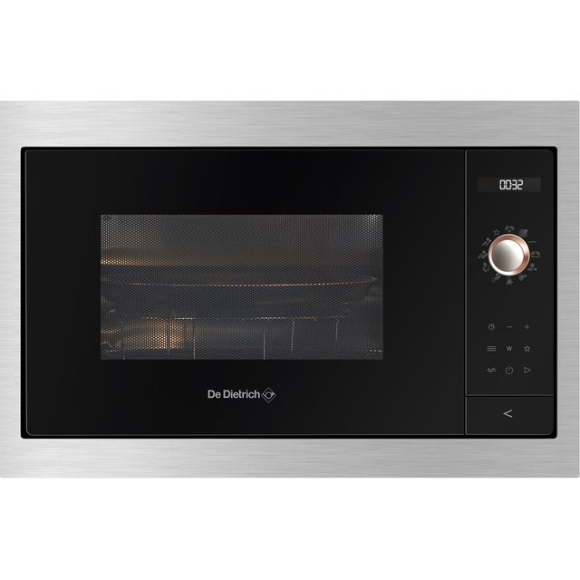 De Dietrich DMG7129X Built In Microwave With Grill - Platinum - DMG7129X_PL - 1