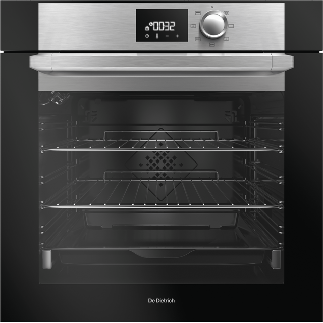 De Dietrich DOE7210BM Built In Electric Single Oven - Platinum - A Rated - DOE7210BM_PL - 1