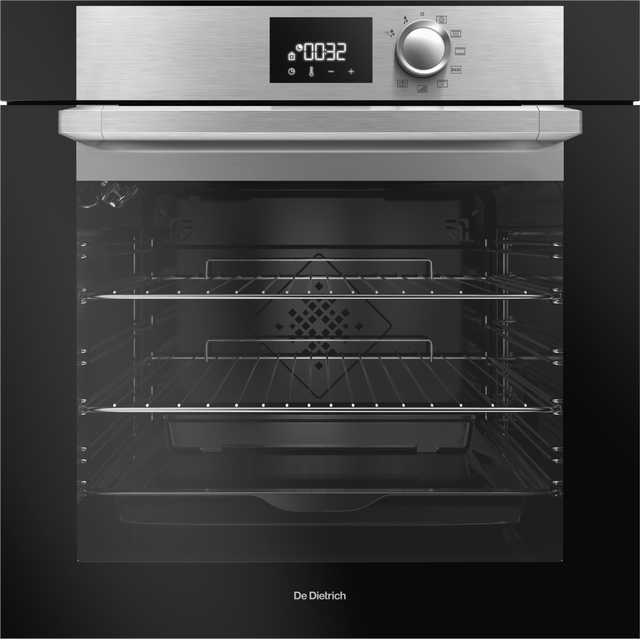 De Dietrich DOP7200BM Built In Electric Single Oven - Platinum - A+ Rated - DOP7200BM_PL - 1